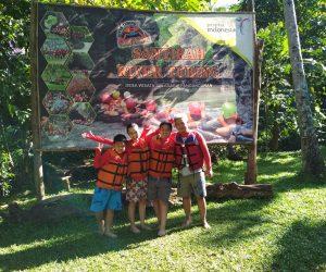 Paket Body Rafting Santirah